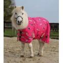 Hobusetekk roosa pildiga 80cm shetty