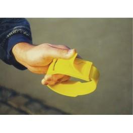 Märkelint plast kollane