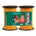 Elektrikarjuselint kollane/oranz topeltpakk 10mmx200m