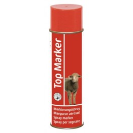 Märke spray 500ml lammastele punane