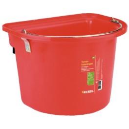 Söödaämber plastikust punane 12L