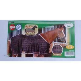 Kärbsetekk hobusele 125cm must