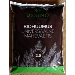 Biohuumus Ussimo 2,5 liitrit