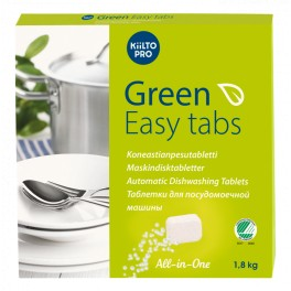 Nõudepesumasina tabletid Green Easy 1,8kg
