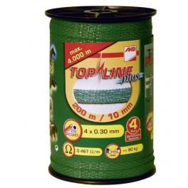El.karj.lint Topline Plus 200m 10mm 4x0,3 roheline