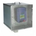 Varguskindel metallist kast elektrigeneraatorile/akule