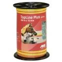 Elektrikarjuse lint Topline Plus 200m 10mm 4x0,3 kollane/oranž