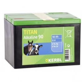 Aku-patarei Titan Alkaline 9V 170Ah