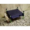 Soojendusplaat tibudele termostaadiga 40x50cm 24V